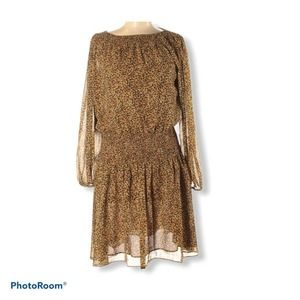 Textile Elizabeth and James leopard dress